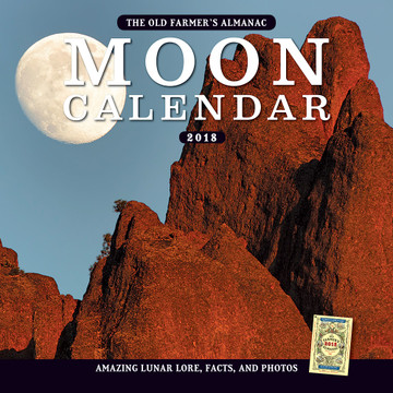 The 2018 Old Farmer's Almanac Moon Calendar
