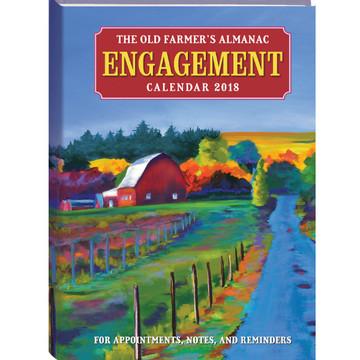 The 2018 Old Farmer's Almanac Engagement Calendar