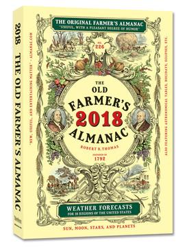 The 2018 Old Farmer's Almanac - Bookstore Edition Subscription