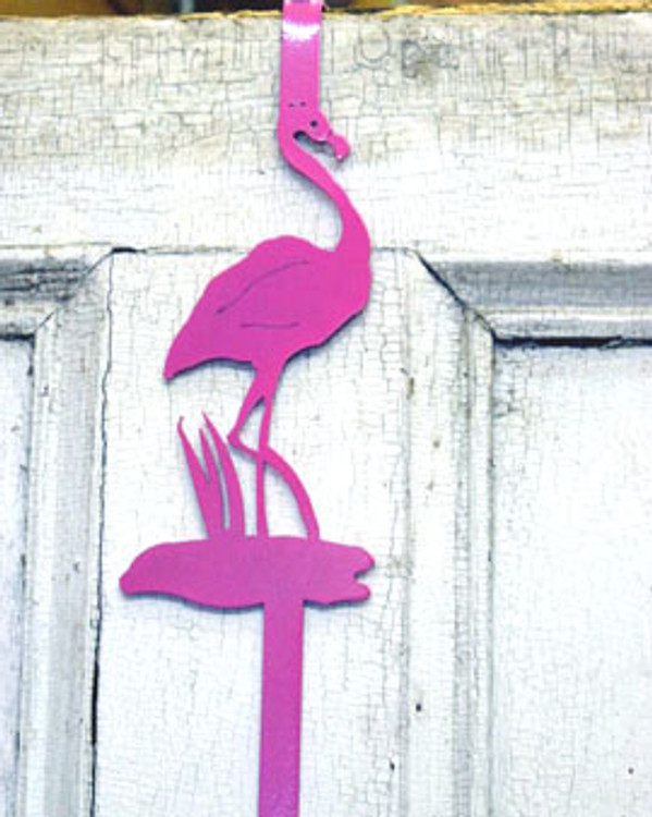 Wreath Hanger - Flamingo