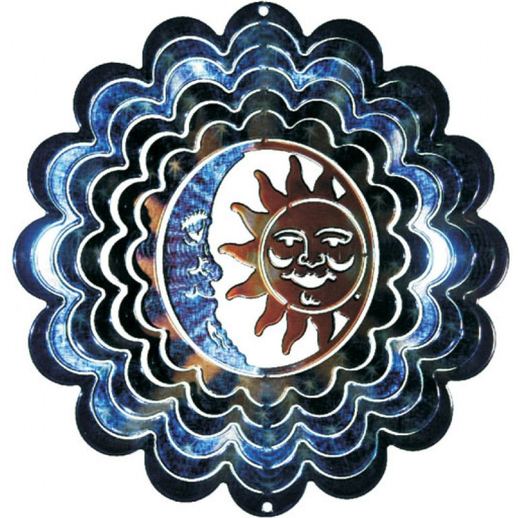 Kaleidoscope Wind Spinner Sun & Moon