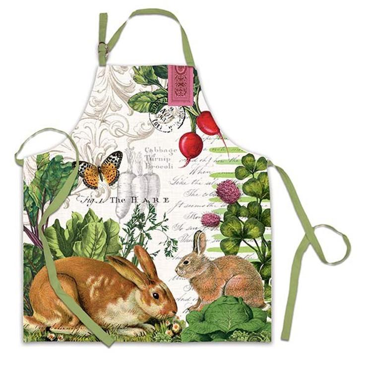 Garden Bunny Apron