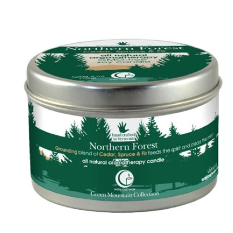 Northern Forest Candle Large Tin