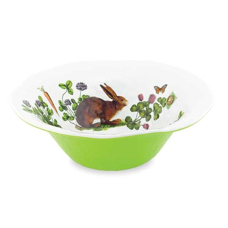Serveware Large Bowl - Garden Bunny