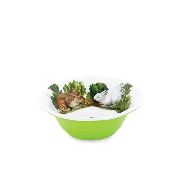 Serveware Medium Bowl - Garden Bunny