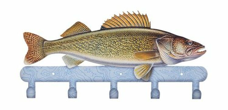 Coat Rack - Walleye