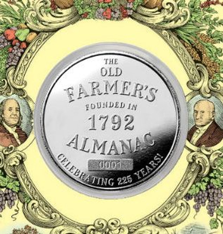 The Old Farmer's Almanac Anniversary Commemorative Coin