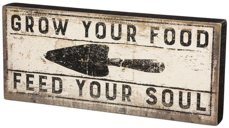 Box Sign - Feed Your Soul