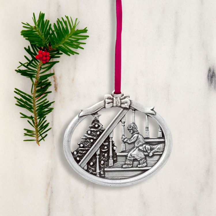 Magic of Christmas Pewter Annual Ornament