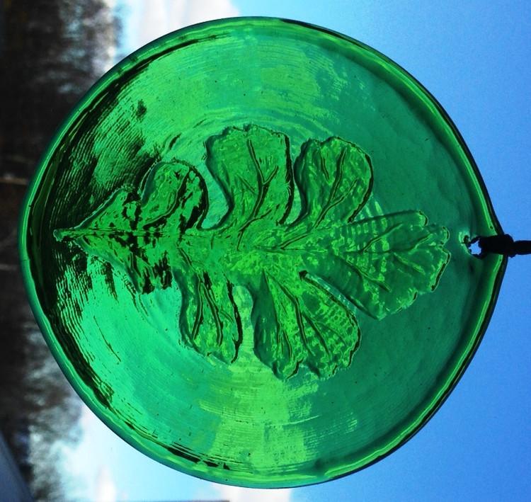 Oak Leaf Large Suncatcher