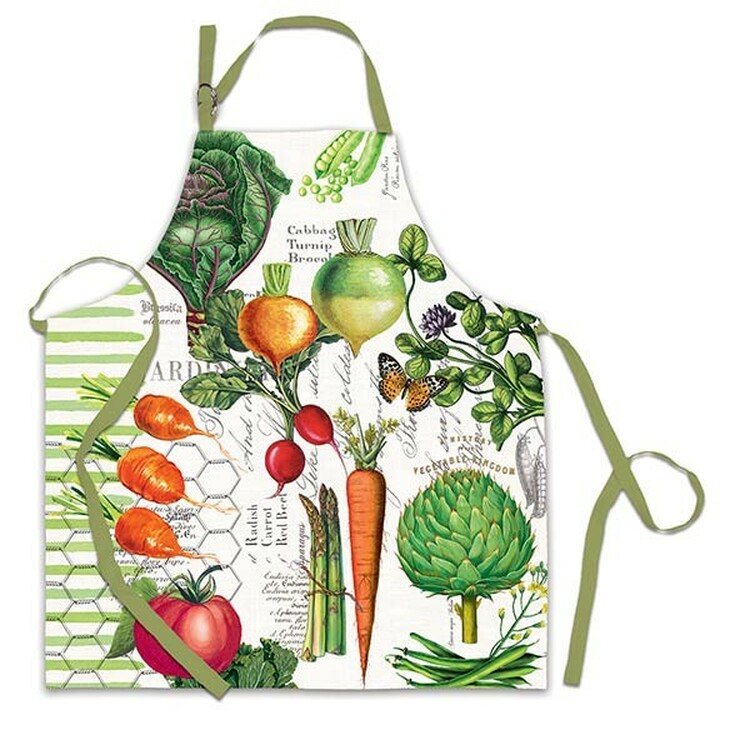 Vegetable Kingdom Apron