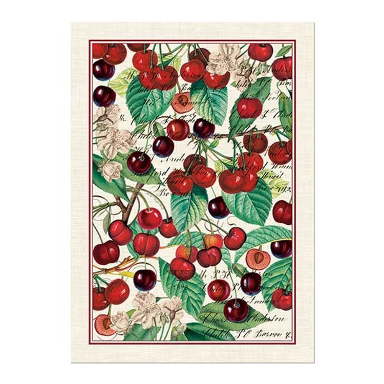 Black Cherry Kitchen Towel