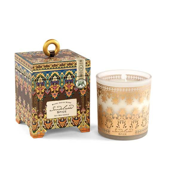 Sandalwood Spice 6.5 oz. Soy Wax Candle