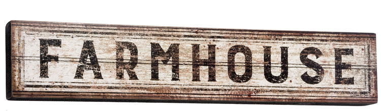 Box Sign - Farmhouse