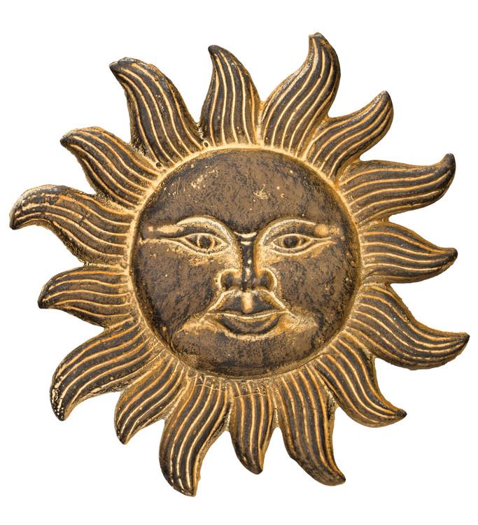 Vintage Cast Iron Sun