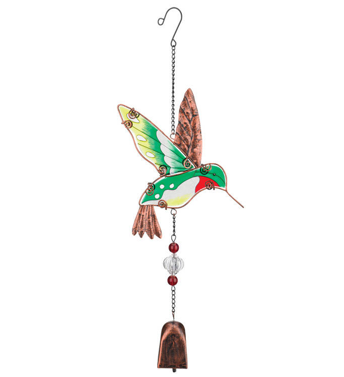 Hummingbird Garden Bell