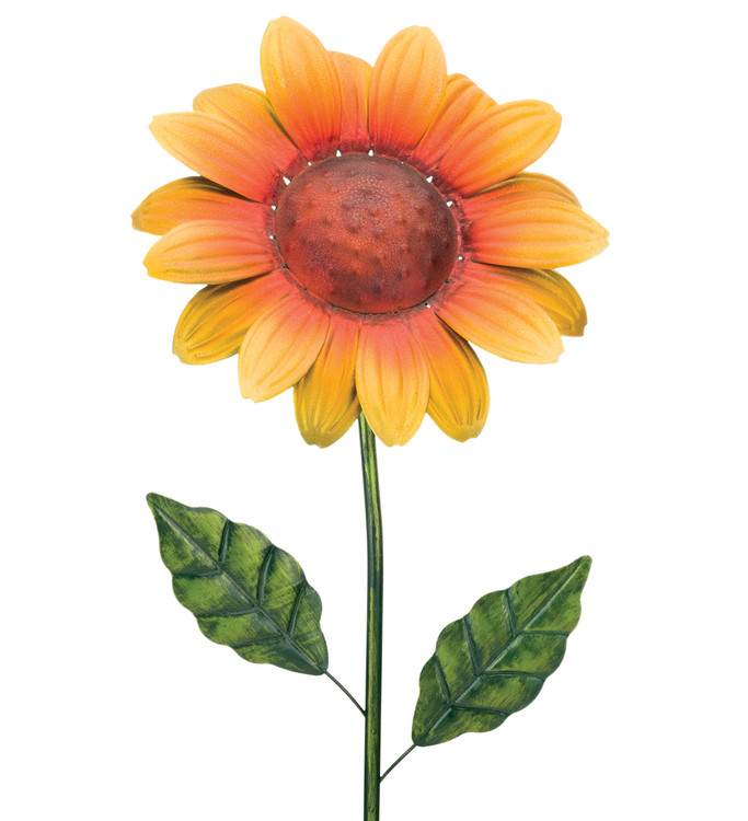 "36"" Flower Stake - Sunflower"