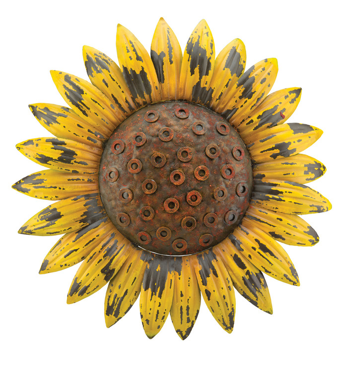 Wall Decor - Rustic Sunflower