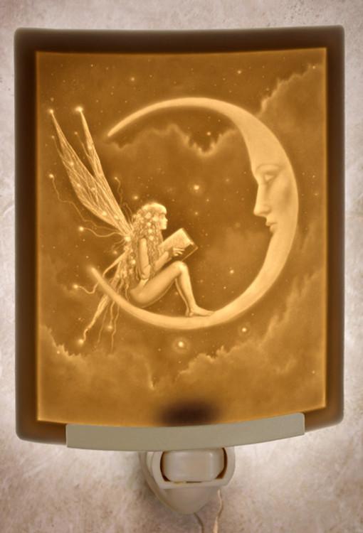 Lithophane Night Light - Story Fairy