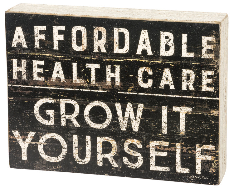 Box Sign - Affordable