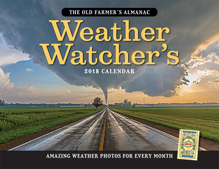The 2018 Old Farmer's Almanac Weather Watcher's Calendar - The Old ...