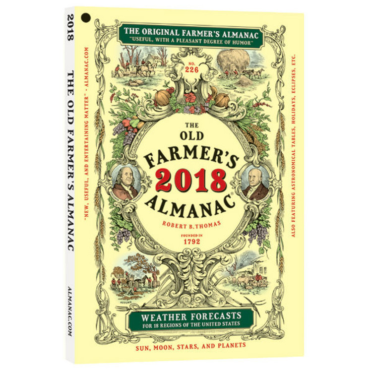 Oldest Farmer's Almanac in America