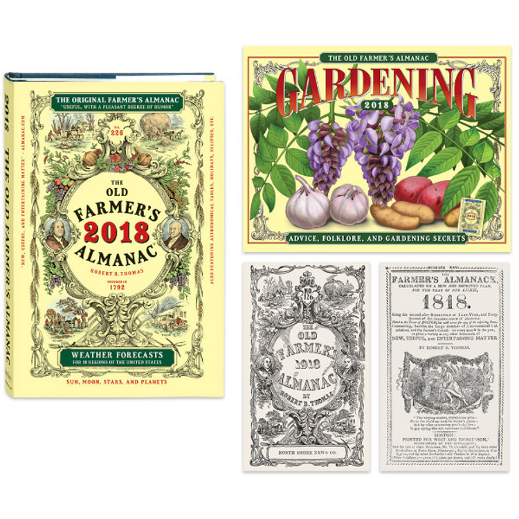 The 2018 Old Farmer's Almanac - Collector's Edition Subscription