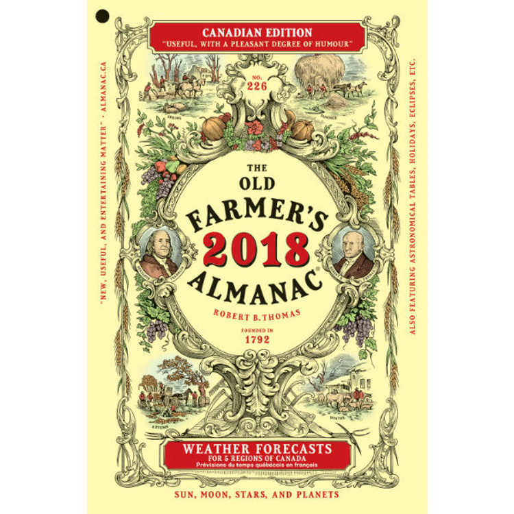 2018 Farmer's Almanac - Canadian Edition