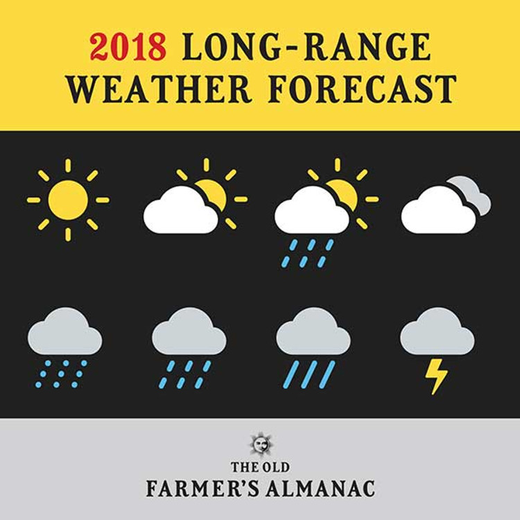 2018 U.S. Long-Range Weather Forecast