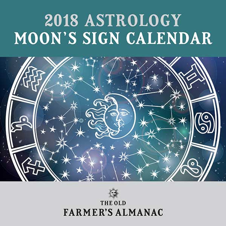 2018 Astrology Moon's Sign Calendar - PDF Download
