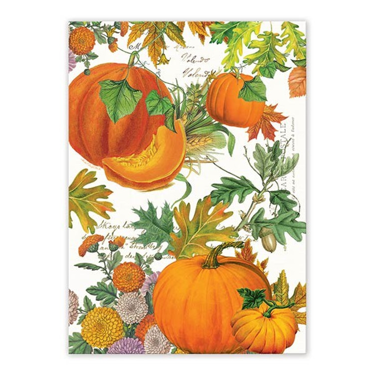 Pumpkin Melody Kitchen Towel