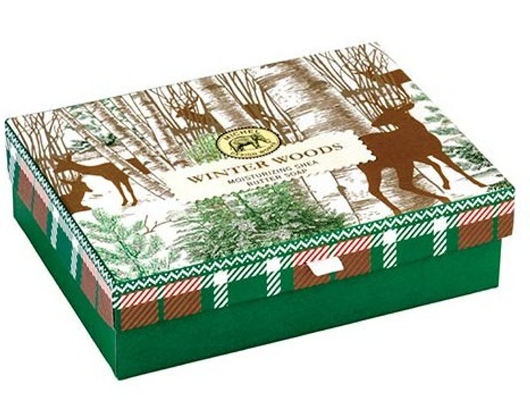Winter Woods Double Soaps