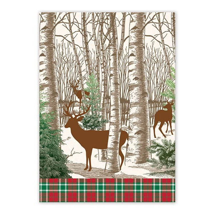 Winter Woods Kitchen Towel