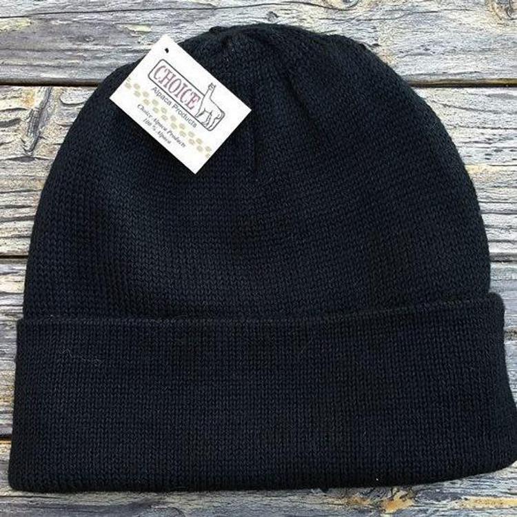 Iditarod Beanie Hat - Black