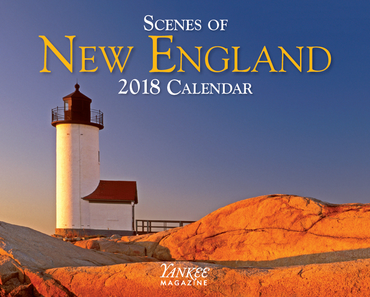 Scenes Of New England 2018 Calendar
