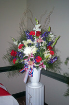 The Bloom Closet's American Colors Urn