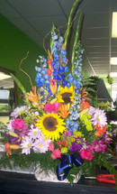 The Bloom Closet's Bright Color Basket
