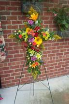 The Bloom Closet's Flowerful Cross