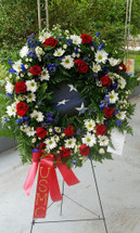 American Flag Tribute by The Bloom Closet Florist in Evans, GA