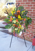The Bloom Closet's Deer Hunter Wreath