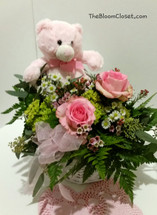 BabyGirlBassinet TheBloomCloset.com #thebloomclosetflorist #thebloomcloset #valentinesflowers #florals #floweroftheday #flowerporn #flowerstagram #flowermagic #blossom #botanical #florals #flowerslovers #blooms #homedecor #floristinaugustaga #floristinevansga #flowers #rosesarebeautiful #botanical #flowersarebeautiful #blossom #blooms #bloom #newbornflowers #valentinesdayflorist #valentinesdayflowers #love #flowersinaugusta
