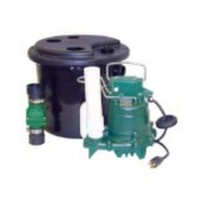 Zoeller 105-0001 Laundry Pump Package Including M53 Sump Pump