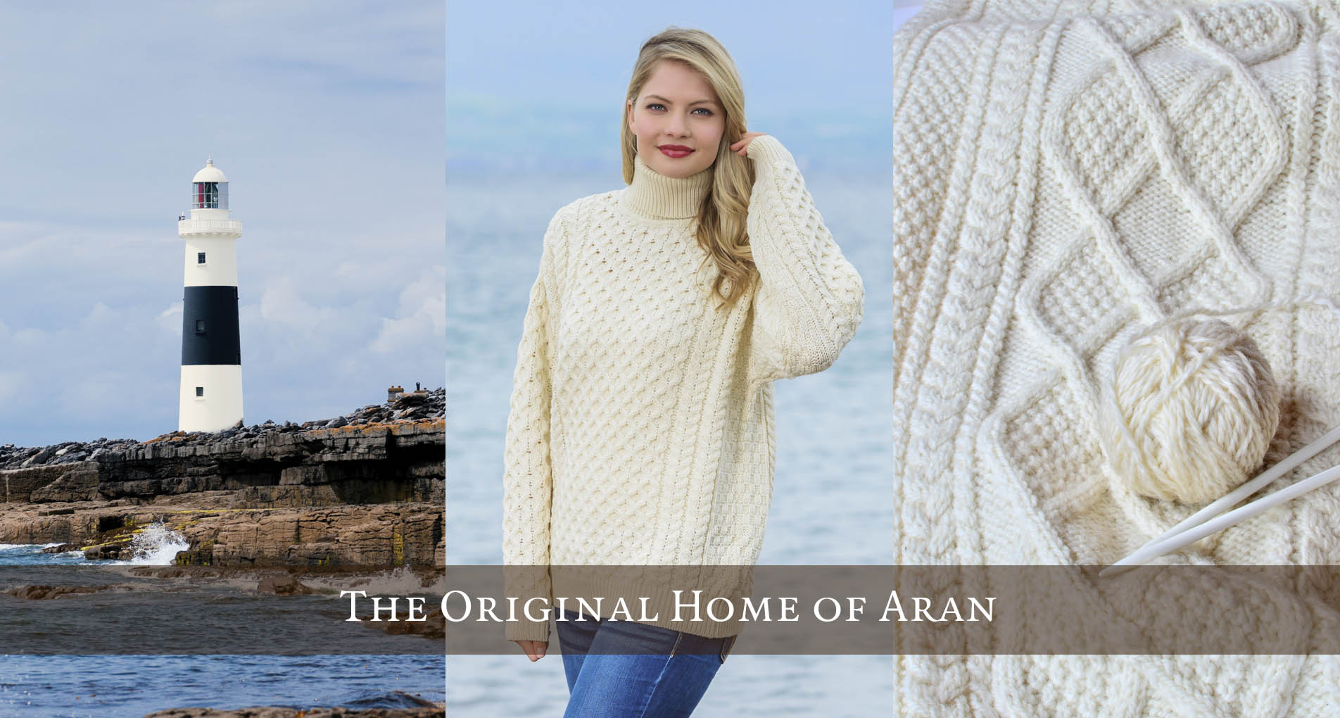 Irish Sweaters, Aran Sweaters & Irish Wool Sweaters direct from the ...