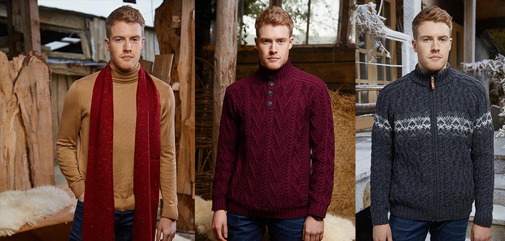 Mens Irish Sweaters for Christmas
