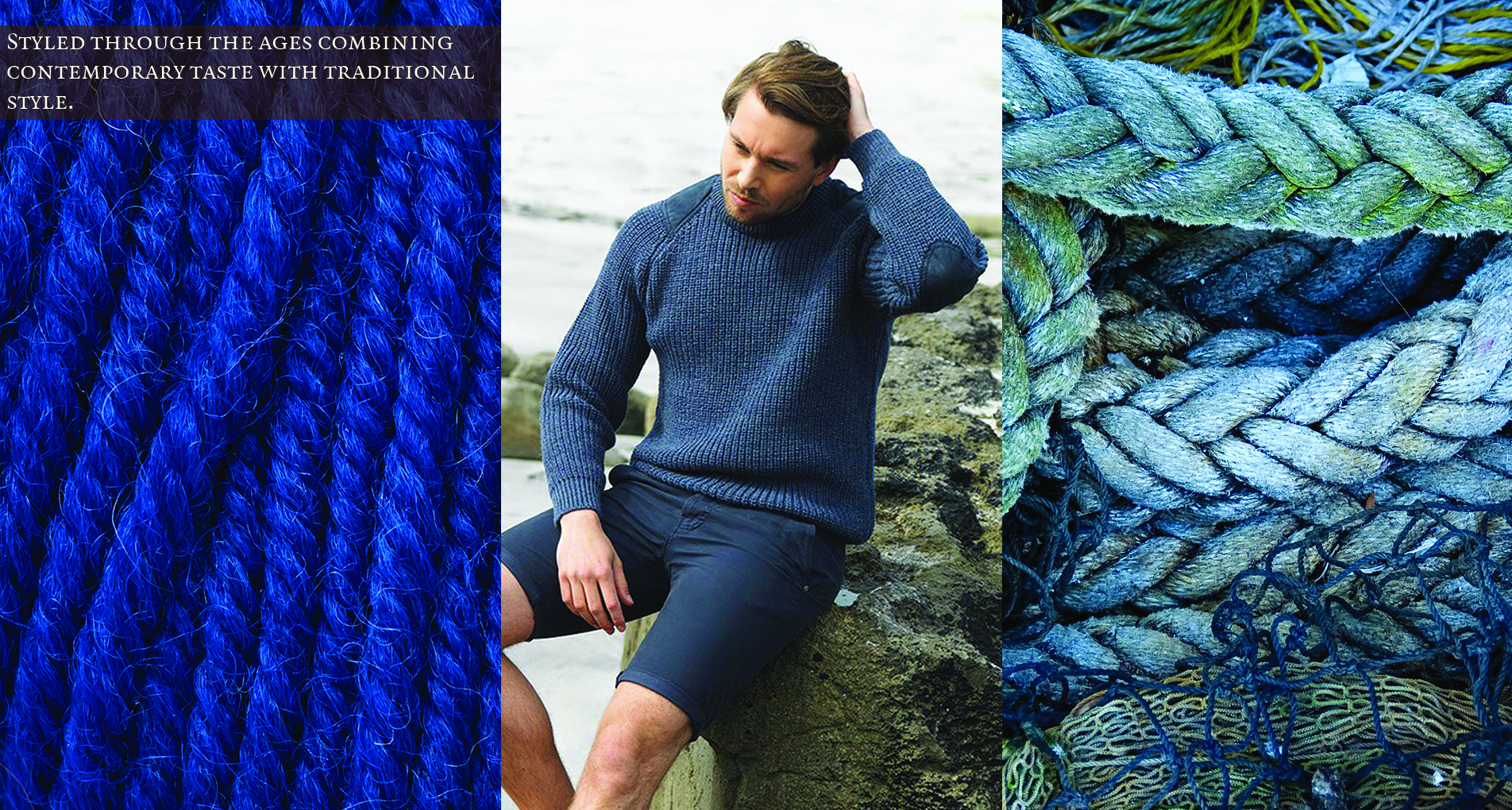 Authentic Aran Wool Sweaters