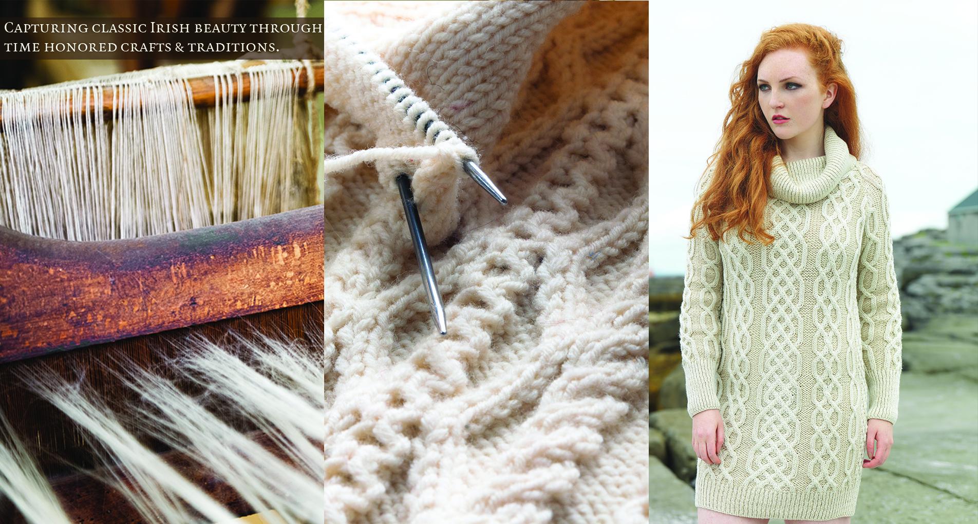 Irish Sweaters, Aran Sweaters & Irish Wool Sweaters direct from ...