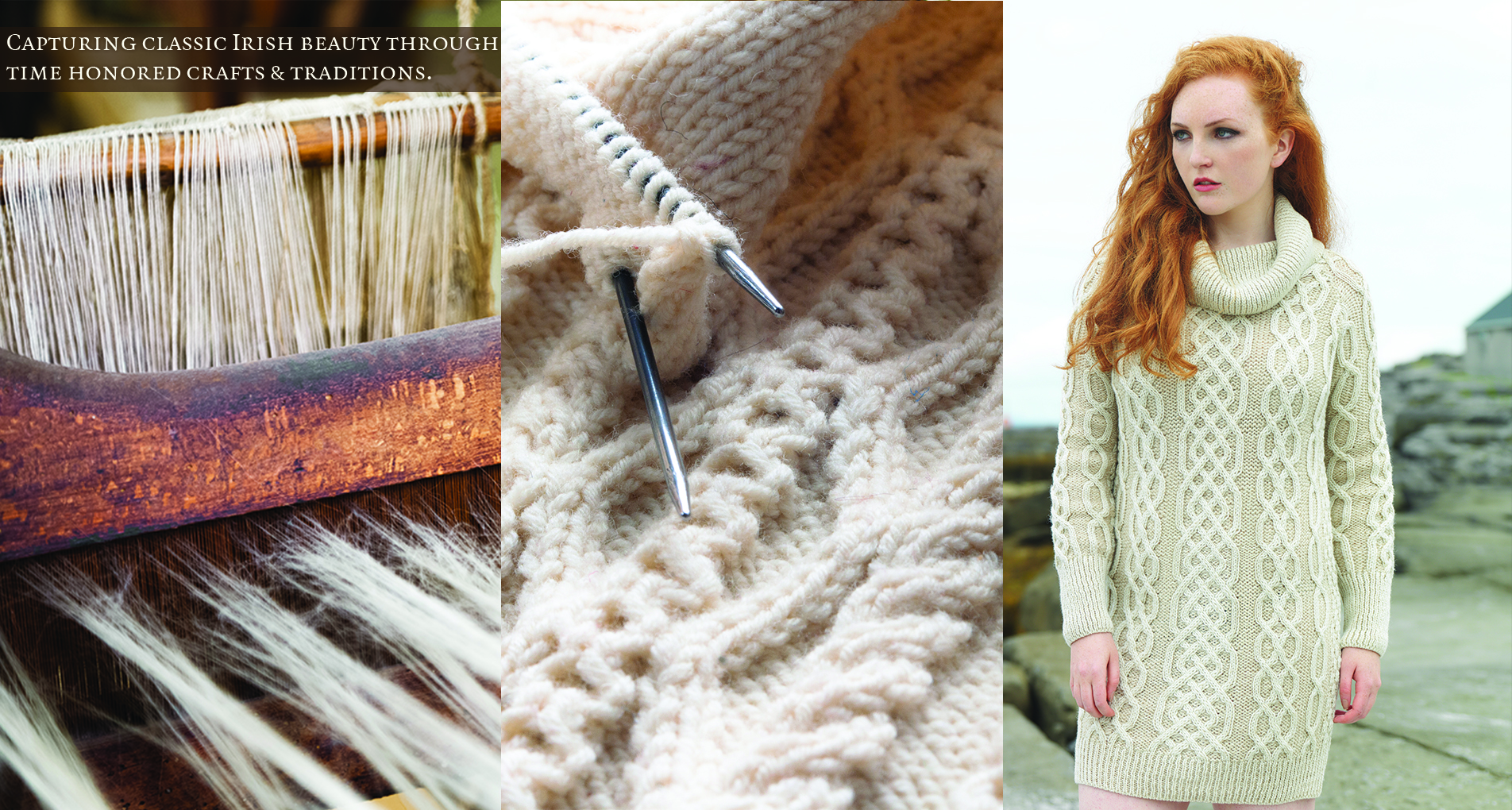 Irish Sweaters & Aran Sweaters direct from Aran Islands, Ireland