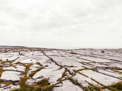 Limestone formations on Inis Mor, Aran Islands