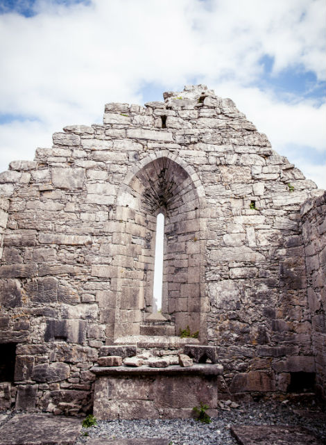 St. Brecan Church, Inis Mor, Aran Islands