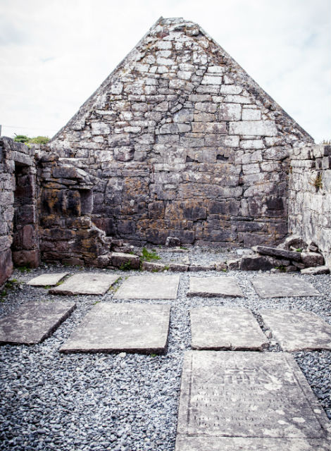 Penitential Beds on Inis Mor, Aran Islands